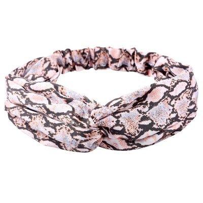 Haarband-Snakes-roze-slangen print-dieren-print-haarbanden-dames-haaraccessoires-online-kopen-bestellen
