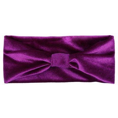 Haarband Velvet love paars paarse fluwelen dames haarbanden haaraccessoires headbands online haar elastieken kopen