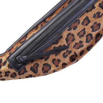 Heup tasje Trendy Leopard bruin bruine Fanny Pack heuptas dames fashion dierenprint animal print musthave tassen festival kopen