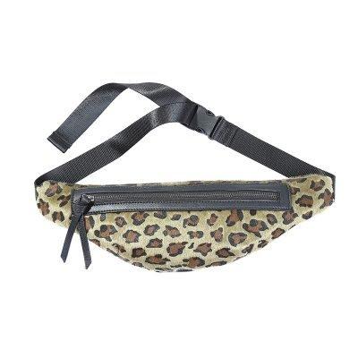 Heup tasje Trendy Leopard groen groene Fanny Pack heuptas dames fashion dierenprint animal print musthave tassen festival