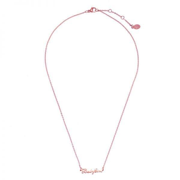 Ketting Baby Girl rose gouden rvs dames ketting met tekst mooie valentijn kado musthave accessoires mode fashion kopen