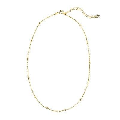 Ketting Sweet Little Dots goud gouden dunne korte dames kettingen met bolletjes Necklace sieraden fashion musthave items
