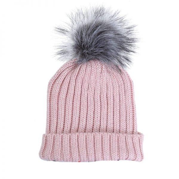 Must Freezeproof Beanie roze pink dames mutsen wollen bolletje warme mustsen beanies online bestellen kopen