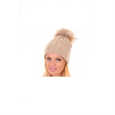 Must Winterproof Beanie beige creme dames mutsen wollen bolletje warme mustsen beanies online bestellen kopen fashion