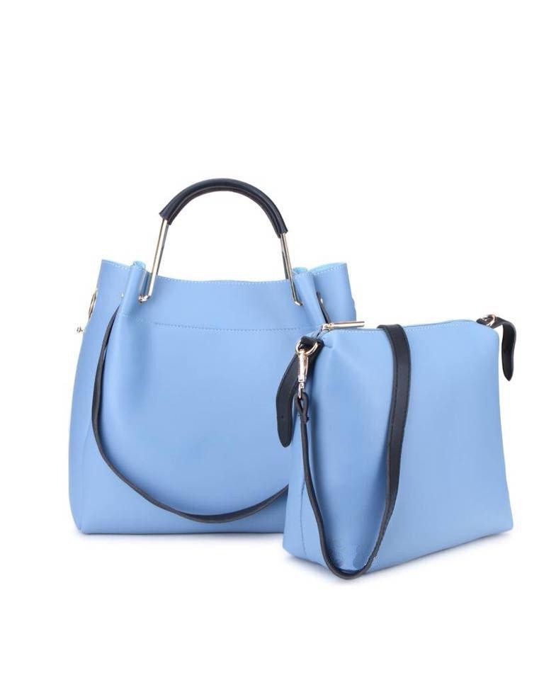 Handtas Nienke   Bag in Bag   Grijs