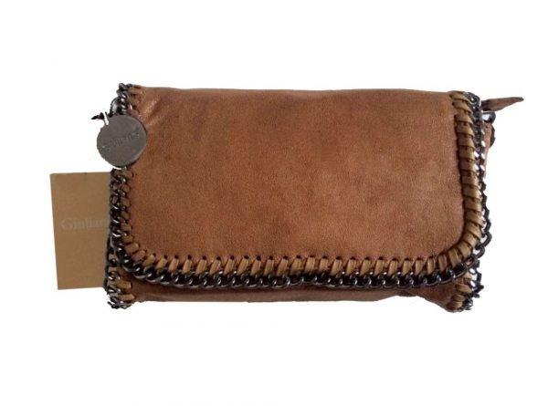 clutch Kettingen bruin bruine clutches schoudertassen ketting hengsel kettingen rondom musthave itbags kunstleder suede online