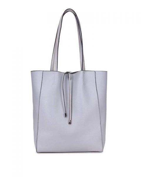 Leren-Shopper-Simple-grijs grijze -ruime-dames-shopper-zacht-leer-online-luxe-dames-tassen-italie-bestellen-557x600