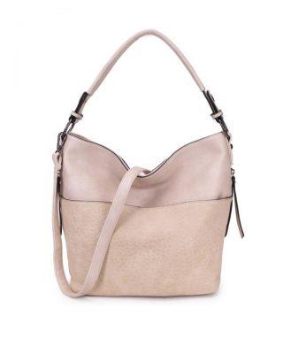 4708c4f775b Tas Pattie beige nude dames handtassen giulliano kunstleder stoere tassen  vrouwen online kopen bestellen itbags