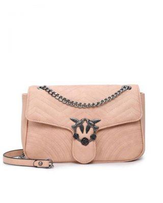 1236bd708f1 Tas-birds XL-roze pink kunstlederen-it-bag-schoudertas-kettinghengsel