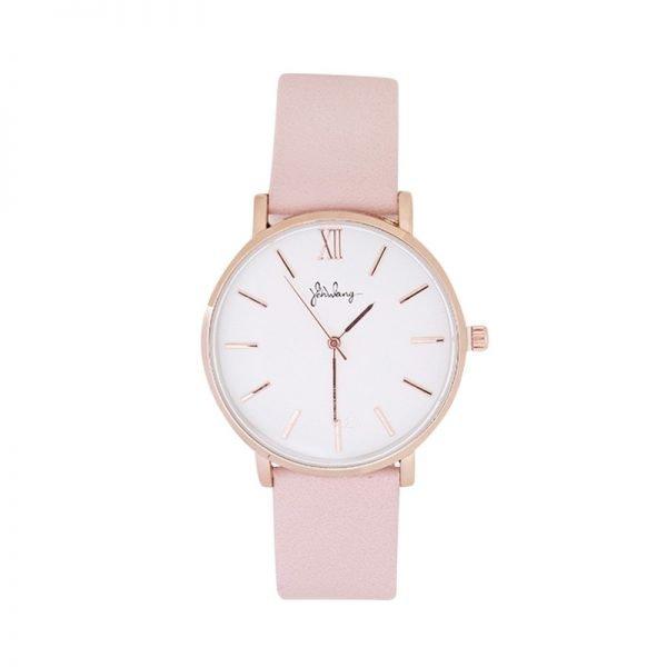 Horloge Time flies roze pink band rose kast musthave dames horloges fashion horloges rvs roestvrij staal online bestellen watches