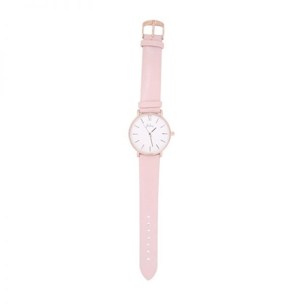 Horloge Time flies roze pink band rose kast musthave dames horloges fashion horloges rvs roestvrij staal online bestellen watches ladie