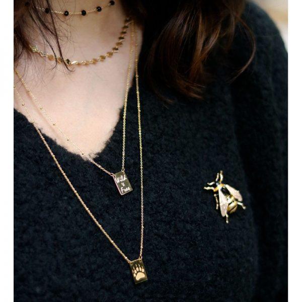 Ketting Wild & Free zilveren zilveren lange kettingen Necklaces fashion musthave kettingen