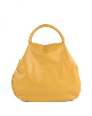 e0bd3b92594 Leren Handtas Angel geel gele dames tassen leder leer giuliano it bags  online luxe mooie tassen