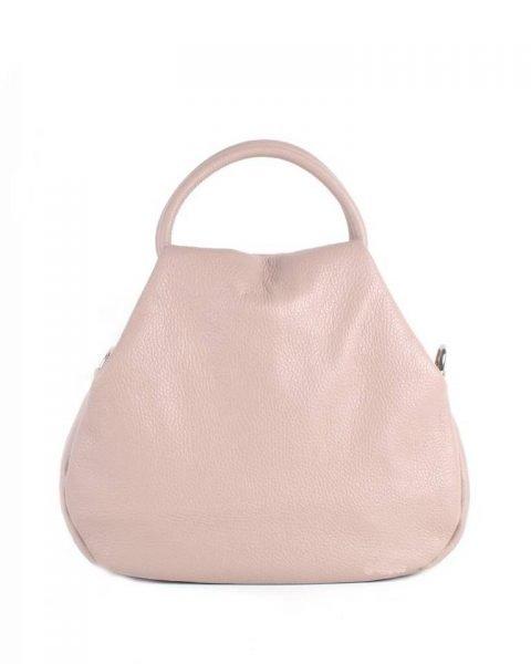 Leren Handtas Angel roze pink dames tassen leder leer giuliano it bags online luxe mooie tassen kopen bestellen