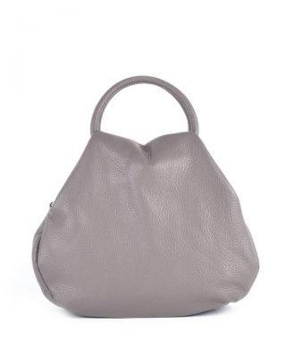 4700aebb17c Leren Handtas Angel taupe beige dames tassen leder leer giuliano it bags  online luxe mooie tassen