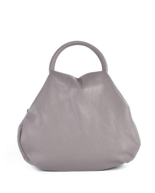 Leren Handtas Angel taupe beige dames tassen leder leer giuliano it bags online luxe mooie tassen kopen bestellen