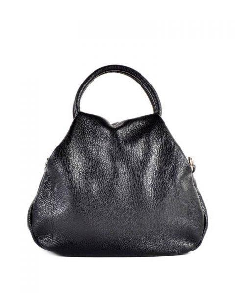 Leren Handtas Angel zwart zwarte dames tassen leder leer giuliano it bags online luxe mooie tassen kopen bestellen