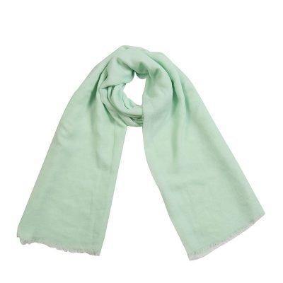 Sjaal Sweetheart mint turquoise lange dames sjaals omslagdoek katoen shawls yellow online fashion musthaves vierkante sjaal