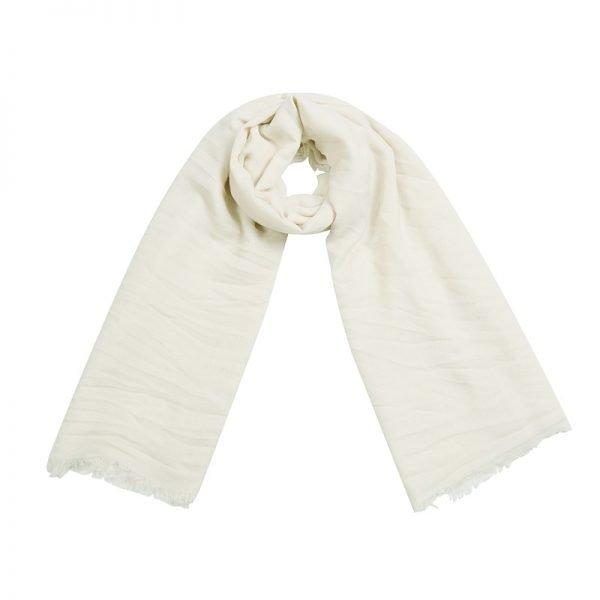 Sjaal Sweetheart wit witte lange dames sjaals omslagdoek katoen shawls yellow online fashion musthaves vierkante sjaal