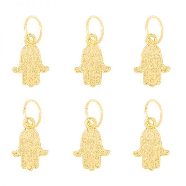 Haarringen Hamsa goud gouden vlecht ringen hand van fatima setje haar accessoires haar pimpem festival hair musthave fashion haar hair braid rings Hamsa
