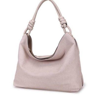 Handtas Spiral beige nude kunstleder tassen dames tas itbags look a like bags musthave dames tassen goedkope guiliano online