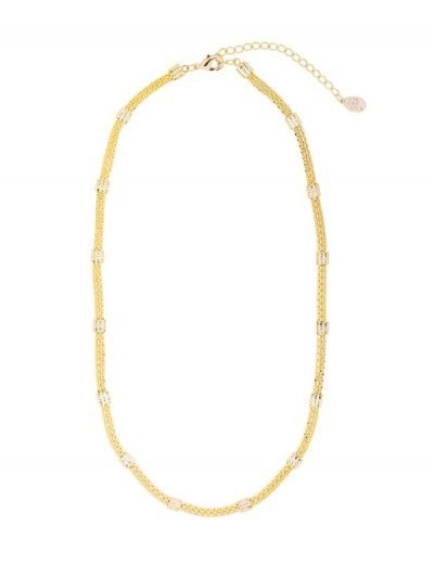Ketting Connect chain goud gouden dikke korte dames kettingen schakels musthave fashion necklages online kopen