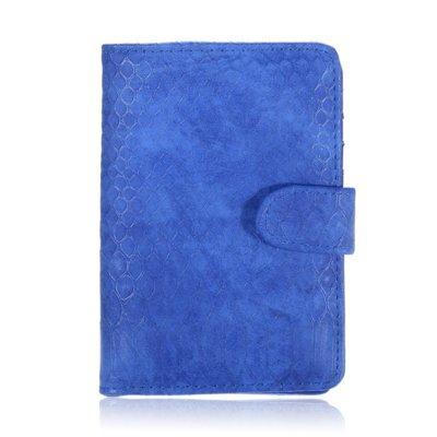 Paspoorthouder-My Croco kroko blauw blauwe paspoort-hoes-document-houder-paspoorthoesje-trendy-yehwang-kopen-bestellen-reisdocument