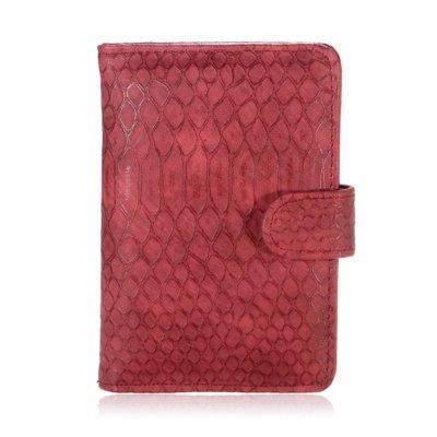 Paspoorthouder-My Croco kroko rood rode paspoort-hoes-document-houder-paspoorthoesje-trendy-yehwang-kopen-bestellen-reisdocument