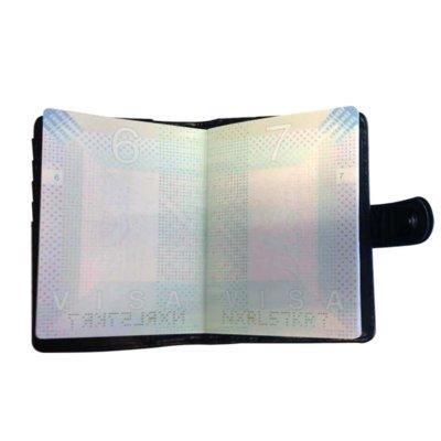Paspoorthouder-My Croco kroko rood rode paspoort-hoes-document-houder-paspoorthoesje-trendy-yehwang-kopen-bestellen-reisdocument binnen