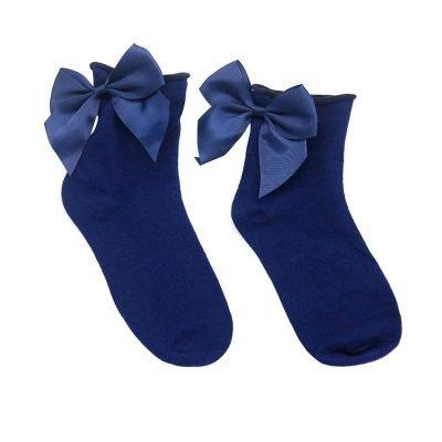 Sokjes-cute-bow-blauw blauwe-korte-dames-sokken-met-strik-achter-musthave-fashion-socks-bow-dames-sokken-strik-400x400