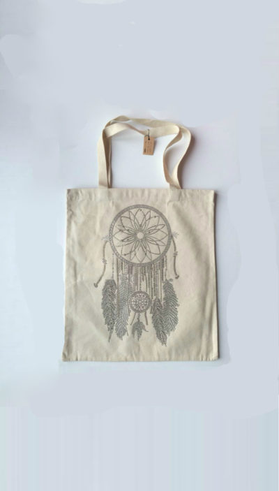 Canvas-Shopper-Dreamcatcher-off-wit-witte-canvas-tassen-shoppers-tas-met-dromenvanger-print-summer-big-bags-online-ladies-online-2
