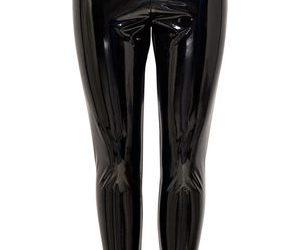 Wonderlijk Zwarte Lak legging zwart strakke sexy gladde lak leggins strakke IT-64