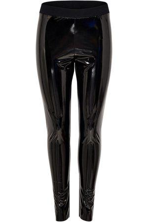 Zwarte Lak legging zwart strakke sexy gladde lak leggins strakke broek broeken lakkleding lakbroek online goedkoop fashion kopen online