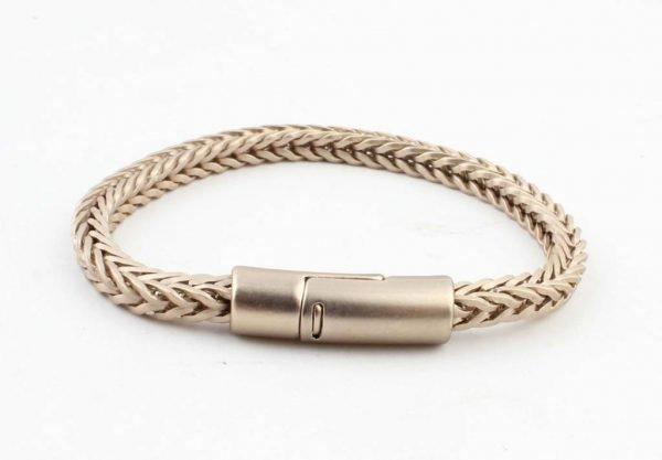 Armband-Noe mat goud gouden dames armbanden schakel gevlochten armbanden bracelet gold ladies online bestellen goedkoope