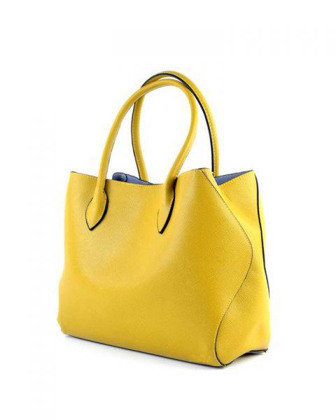 Bag-in-Bag-Tas-Elias-geel gele -dames-tassen-blauwe-voering-binnenkant-extra-binnen-tas-fashion-kantoor-bags-it-bags-fashion-musthaves-online-giuliano-450x600