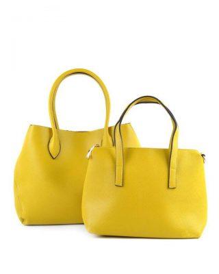 Bag-in-Bag-Tas-Elias-geel gele -dames-tassen-blauwe-voering-binnenkant-extra-gele binnen-tas-fashion-kantoor-bags-it-bags-fashion-musthaves-online-giuliano-450x600