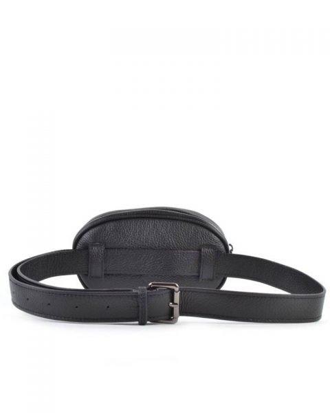 Heuptas-Stylisch-zwart zwarte -beltbag-riemtas-heuptasje-met-riem-fashion-festival-musthave-look-a-like-tassen-online-giuliano-achter