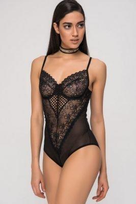 Kanten bodystocking zwart zwarte sexy festival body bodies lace lingerie bodysuit online bestellen kiki riki