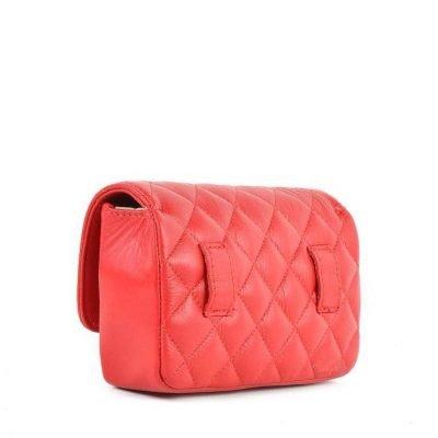 Leren-heuptas-Coco-rood rode -verstelbaar-leer-fannypack-fanny-pack-heuptas-beltbag-marmont-dames-leder-look-a-like-fashion-online-bestellen 2018 achterkant