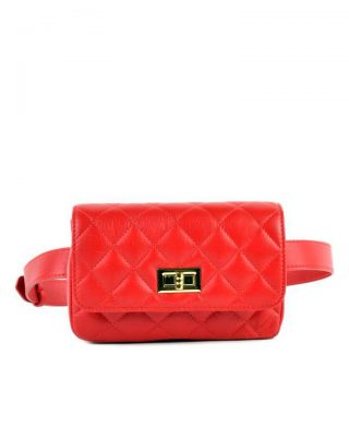 Leren-heuptas-Coco-rood rode -verstelbaar-leer-fannypack-fanny-pack-heuptas-beltbag-marmont-dames-leder-look-a-like-fashion-online-bestellen