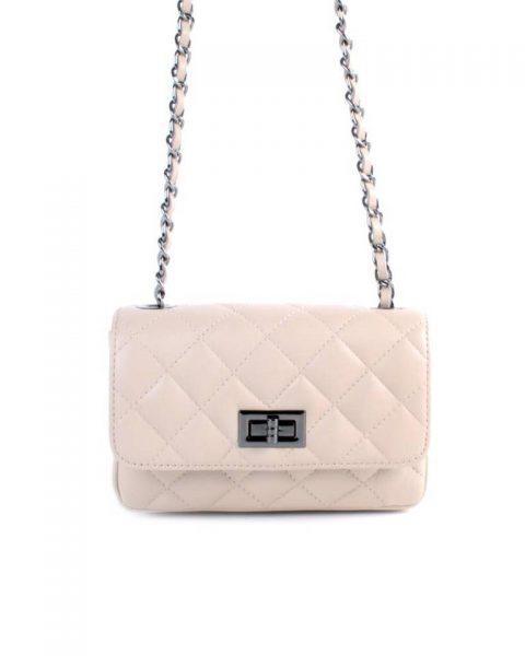 Leren-tas-coco-klein-beige nude creme-designer-inspired-2.55-musthave-lederen-dames-tassen-kettingen-online-kopen