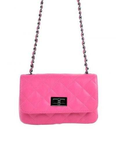 Leren-tas-coco-klein-fuchsia roze pink-designer-inspired-2.55-musthave-lederen-dames-tassen-kettingen-online-kopen