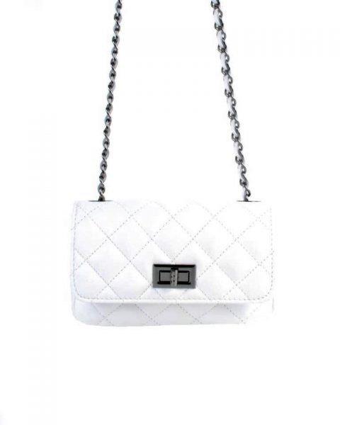 Leren-tas-coco-klein-wit wite-designer-inspired-2.55-musthave-lederen-dames-tassen-kettingen-online-kopen