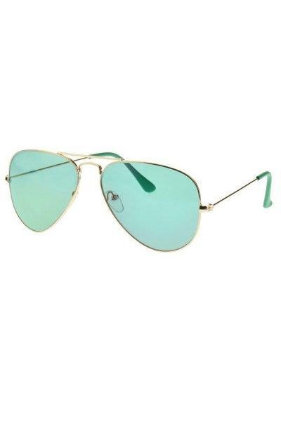 Pilotenbril-Gold-Clear-gouden-piloten-groen groene-glazen-aviator-brillen-doorzichtige-green glases-musthave-bril-dames-fashion