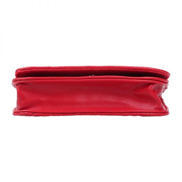 Riem Tas Festival Must rood rode vierkante met flap heuptas-beltbag-riemtas-heuptasje-met-riem-fashion-festival-musthave-look-a-like-tassen-online-bags fannypack kopen onderkant