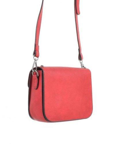 Schoudertasje-Silver Studs-rood rode tas zilveren-studs-it-bags-kleine-tas-online-bestellen-fashion-look-a-like-shoppen achter