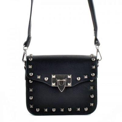 Schoudertasje-Studs-zwart-tassen-blauwe-zilveren-studs-it-bags-kleine-tas-online-bestellen-fashion-look-a-like-shoppen