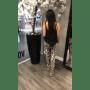 Topje Lace zwart zwarte dames top tops truitjes kanten decolete voor achter zijde topjes goedkoop zomer kleding kopen fashion achter