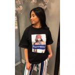 Tshirt Supersexy zwart zwarte dames shirts met tekst fashion tshirts dames online kleding bestellen musthaves