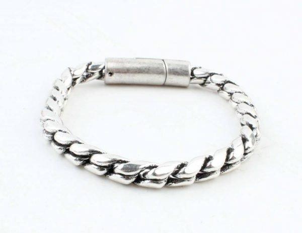 Zilveren Armband Noor oud-zilver bracelets silver stoere dames armbanden accessoires mode fashion online bestellen